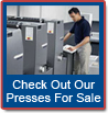 Check Our Presses For Sale